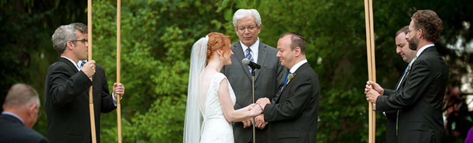 Interfaith Wedding Rabbi Michael Sternfield