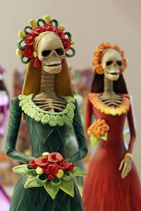 Day of the Dead Catrina Figurines