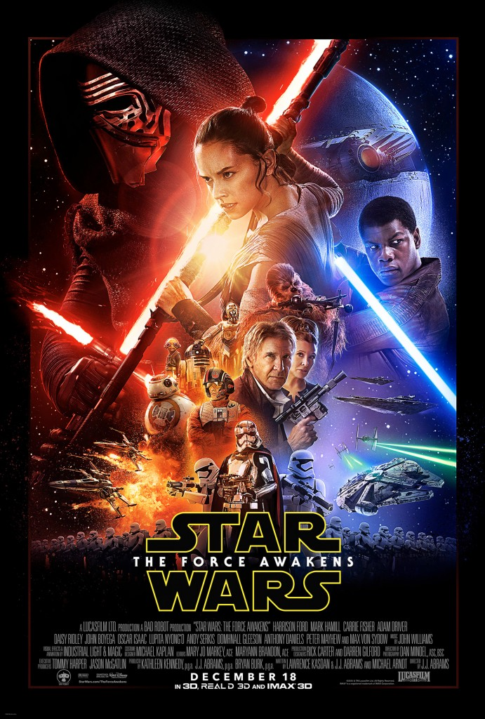 Star Wars Episode VII: The Force Awakens Theatrical Poster